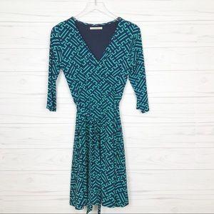 41 Hawthron Renesme Jersey Faux Wrap Dress